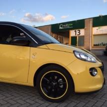 Vauxhall with Yellow AlloyGator Wheel Protectors.jpg