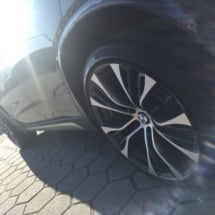 Silver / Black Alloy Wheel With Black AlloyGator Wheel Protection