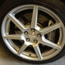 Aston Martin With Black AlloyGator Wheel Protections