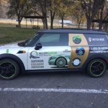 Mini with Green AlloyGators
