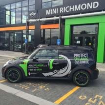 Black Mini with Green AlloyGators