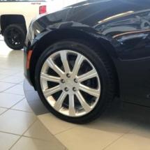 Black Cadillac with Black AlloyGators