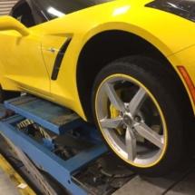 Yellow Porsche with Yellow AlloyGators