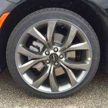 Black Chrysler with Graphite AlloyGators