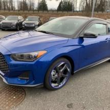 Blue Hyundai with Blue AlloyGators