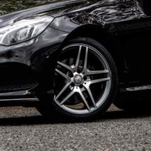 Black Mercedes with Graphite AlloyGators