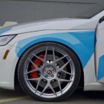 Silver Wheels with Graphite AlloyGators