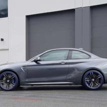 Graphite BMW with Blue AlloyGators