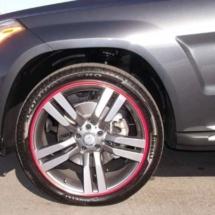 Graphite Alfa Romeo with Pink AlloyGator profiles