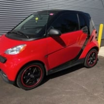 Red Smart Car with Red AlloyGators