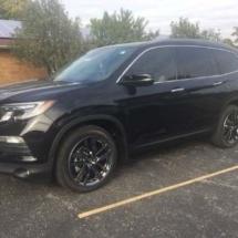 Black Honda with Black AlloyGators