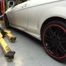 Plastic-Dip-Wheels with Red AlloyGators